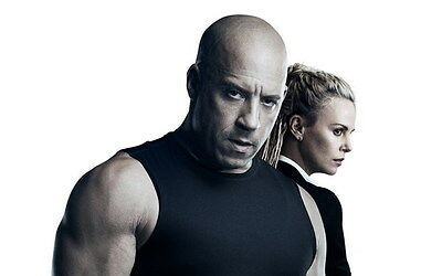 """022 Fast and Furious 8 - Vin Diesel Car Race Ation 2017 Movie 38""""x24"""" Poster"""