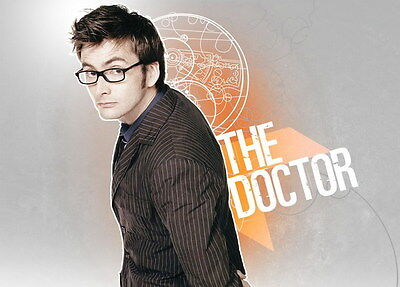 "050 DAVID TENNANT - Doctor Who UK Actor 33""x24"" Poster"