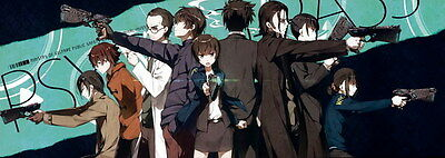 "110 PSYCHO PASS - Kougami Shinya Police Season 2 Fight Anime 67""x24"" Poster"