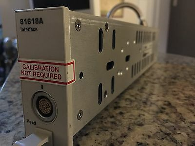 Agilent 81618A Interface Module pulled from a working unit