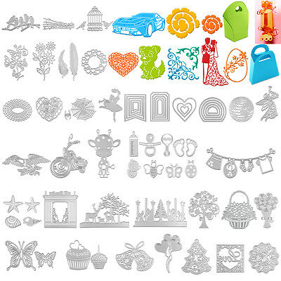Metal Cutting Dies Stencil Scrapbook Card Album Paper Embossing Craft Decor Hot