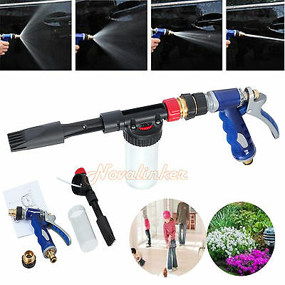 Multifunctional Foamaster II Snow Bubble Car Wash Spray Gun Lance Uses Hose Pipe