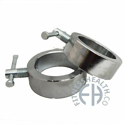 FH Olympic Screw Clasp Barbell Clamps Pair
