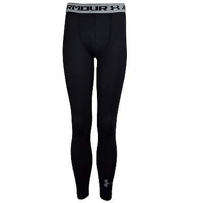 Under Armour Heatgear Armour Junior Fitted Leggings - Black