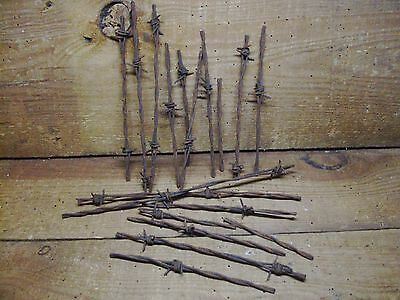 Old Rusty Barb Wire <Great for Crafts>