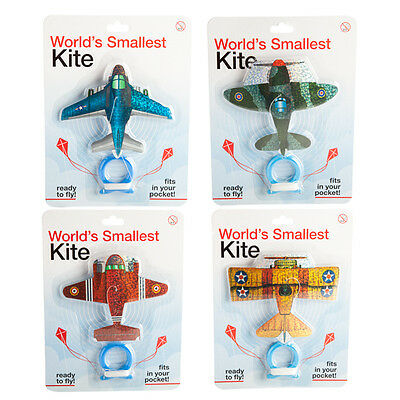 World's Smallest Kite - Fighter Planes - Randomly Assorted - One Only