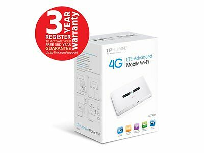 TP-Link M7300 4G LTE Advanced Mobile WiFi HotSpot - Free P&P Ireland & UK!