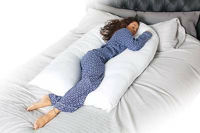New 10 Ft / Foot Maternity Pregnancy COMFORT U/ V Pillow and/ or Case