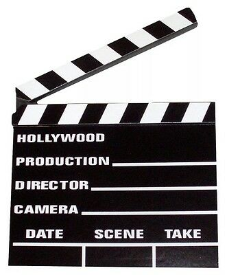 Hollywood Film Directors Clapperboard Clapper Board Movies Fancy Dress OR Chalk