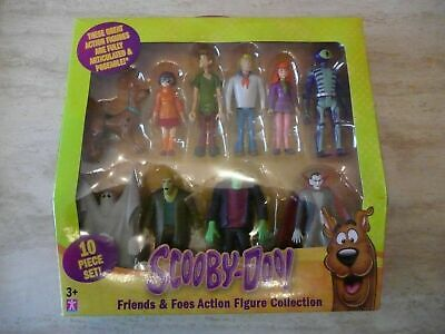 Bnib Scooby Doo 10 Friends & Foes Action Figures Red Beard Mystery Crew Monsters