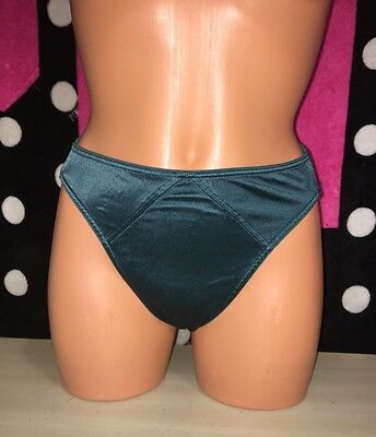 VICTORIA'S SECRET Second Skin Bikini Panties S Small Green