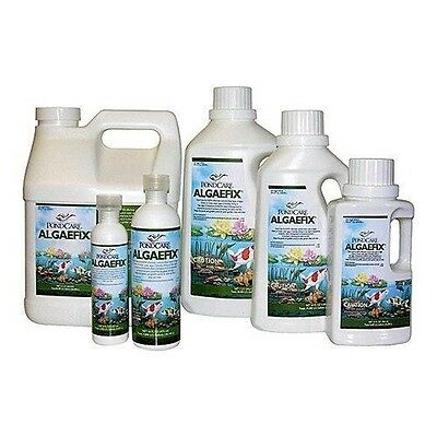 Pond Liner Fountain & Water Feature Water Treatment Pond Care Algaefix 8 oz-1...