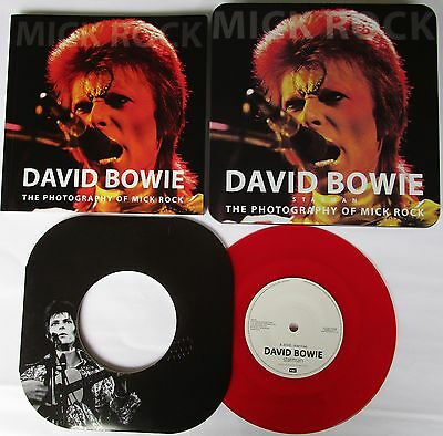 David Bowie - Mick Rock - Starman, The Photography Of Mick Rock - Vinyl 7""