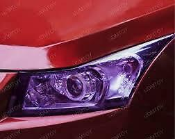 Purple Headlight Tint 30Cm X 1000Cm Foglight Tint