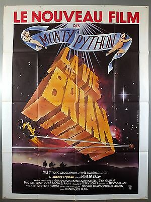 Monty Python's Life Of Brian - John Cleese - Original French Grande Movie Poster