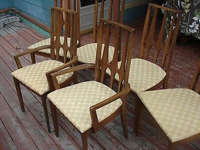 Vintage Broyhill Brasilia Six Chair Set In Time Capsule-Like Condition!