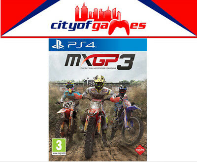 MXGP 3 PS4 Game New & Sealed Free Express Post In Stock