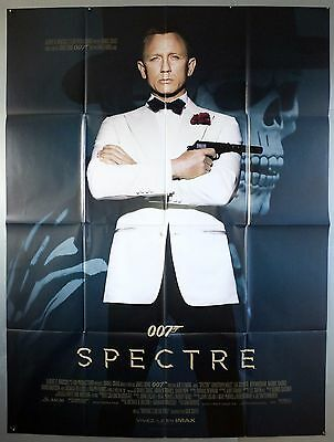 Spectre - James Bond / Daniel Craig - Original French Grande Movie Poster