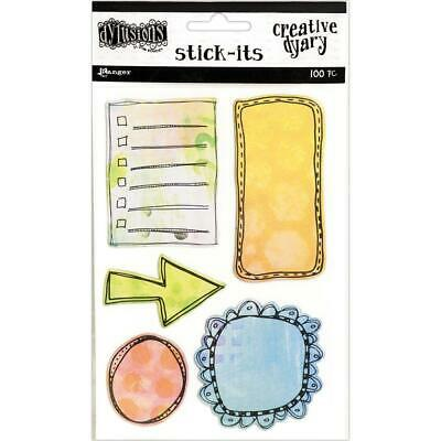 Dylusions Creative Dyary Stick Its - 5 Designs
