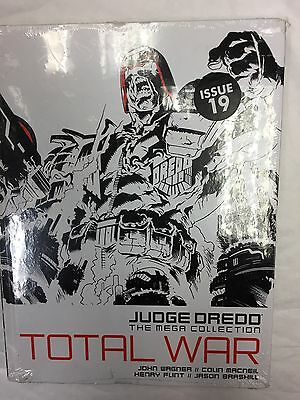 Judge Dredd Mega Collection Issue 19 TOTAL WAR JOHN WAGNER Graphic Novel Cheapes