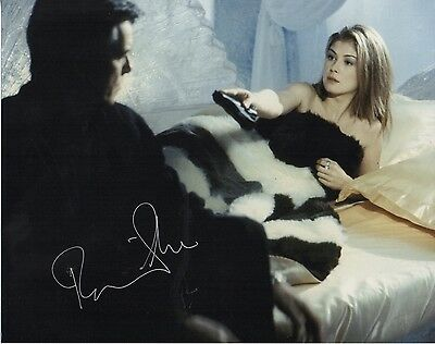 Rosamund Pike James Bond The World Is Not Enough  Hand  Signed 10-8 Photo