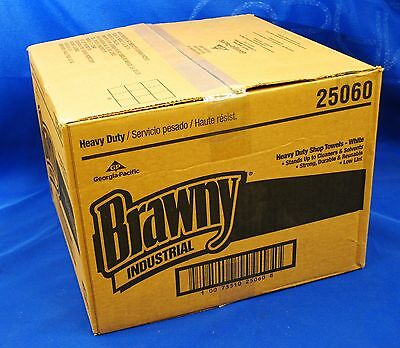 Georgia-Pacific Brawny Industrial Heavy Duty Shop Perforated Towels-25060/ White