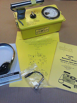 Radiation Detector CDV-700 Geiger Counter Lionel 6B - Calibrated -Life Warranty!