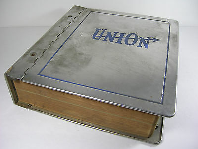 Union Hardware & Metal Co. Salesman Catalog No.41 with Metal Cover Book 1940s