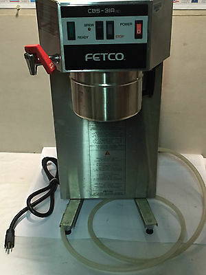 Fetco CBS 31Aap Automatic Airpot Commercial Coffee Brewer Maker w/Faucet