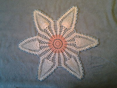 Five Vintage Crochet/Knit DOILIES Hand Made VARIETY PLUS