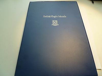 British Virgin Islands First Day Issue Proof Coins and Stamp Set
