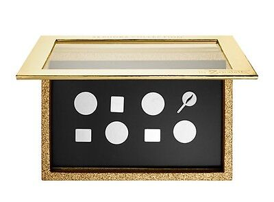 SEPHORA COLLECTION Z Palette Large Sparkle & Shine Gold Customizable Magnetic