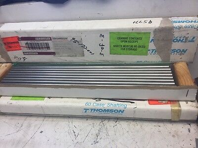 "Thompson Corporation Steel Rod 1/2""x20 5/8"" Long New.  (Box Of 24)"