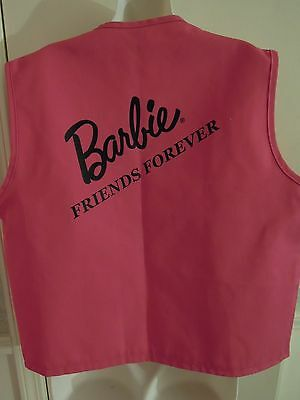 Barbie doll Convention item: vest for adult,  hot pink ; size large LC-388