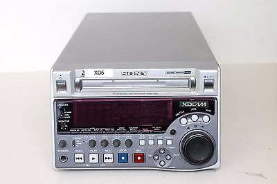 Sony PDW-1500 XDCAM SD Recorder/Player Deck- 244 LASER HOURS ONLY