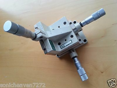 Line Tool Model A XYZ Linear Translation Stage 3-Axis Micrometers Micropositione