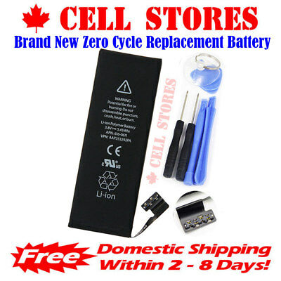 [0 Cycle]Brand New OEM Replacement Battery for iPhone 5S / 5C 1560mAh + Tools