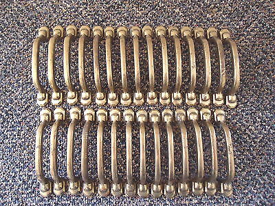 "Vintage Lot Of 29 Brass Drawer Pulls "" GREAT LOT """