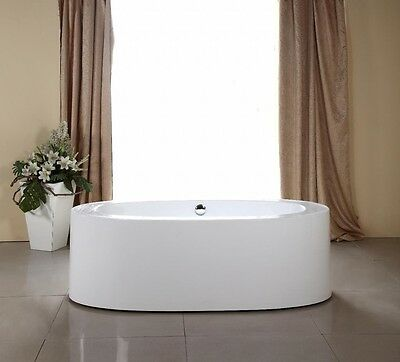 1800 mm Free Standing Oval Bath, one piece (display showroom) Free Delivery UK