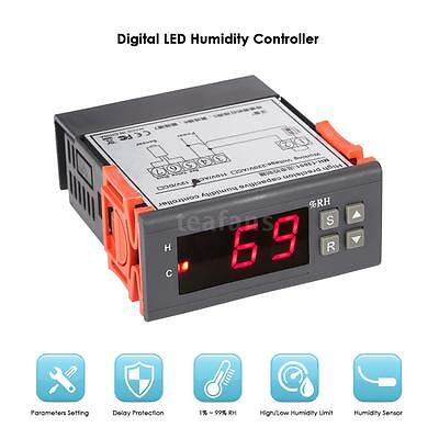 MH13001 10A 110V Digital Air Humidity Control Controller 1% ~ 99% Sensor G1B4