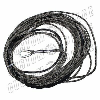 Charcoal 3/16 AmSteel Blue 50 ATV Cable Rope