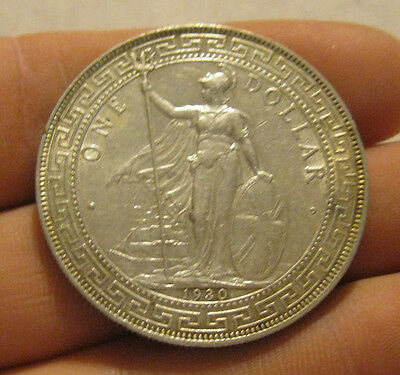 Great Britain - 1930 Large Silver Trade Dollar