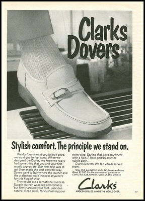 1974 vintage ad for Clrk's Dovers Mens Shoes -429