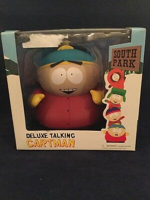 South Park DELUXE TALKING CARTMAN FIGURE BY MEZCO WORKS!!