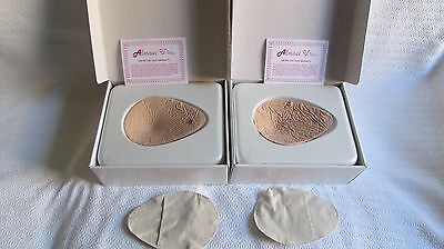 Almost U (2) Size 4 Bilateral  Prosthesis Silicone Breast Form Mastectomy