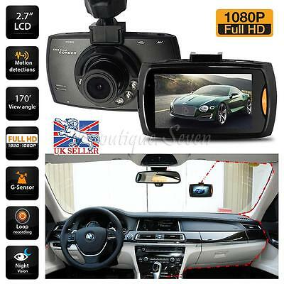 "1080P HD 2.7"" LCD Pro Latest Car DVR Camera Dash Cam Video Recorder Night Vision"