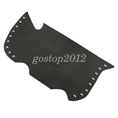 Motorcycle PU Leather Saddle Shield Heat Deflector For Harley Sportster Softail