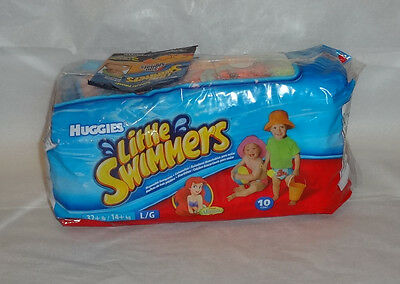 Huggies Little Swimmers Disposable Swimpants Large (32+) 10-Count LITTLE MERMAID