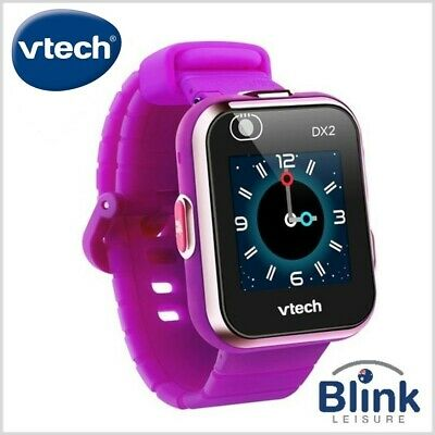 VTech Kidizoom Smartwatch DX - Floral Swirl & Vivid Violet Bands (Watch / Photos