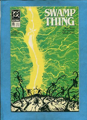Swamp Thing #85 DC Comics April 1989 Rick Veitch Tom Mandrake Alfredo Alcala